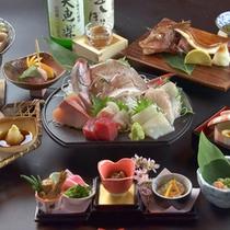 *【夕食例】名立の海の幸をお楽しみ下さいませ。