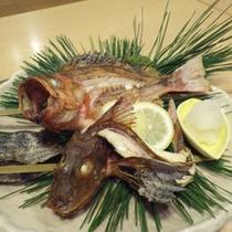 *【夕食例】自分で選んだお魚を焼き魚&お造りで♪