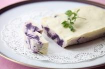 ホワイトチョコ紫芋