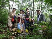 9・9 キノコ狩り 集合写真