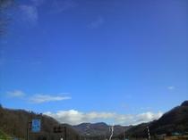 たかつえスキー場 熨斗戸からスキー場