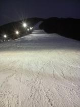 たかつえスキー場 ナイターパラダイスコース