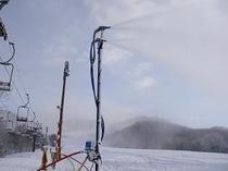 降雪の機械