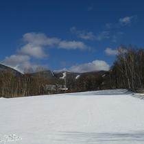 *【冬の風景】会津高原は関東から近いスキーエリアです。