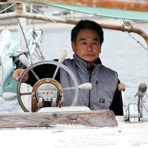 当館主は釣師で漁船を所有!目利きのプロ!!!