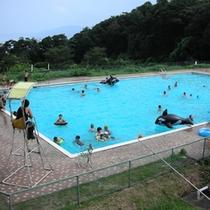 夏は休暇村野外プールも営業!みんなで夏休みの思い出を作ろう!♪