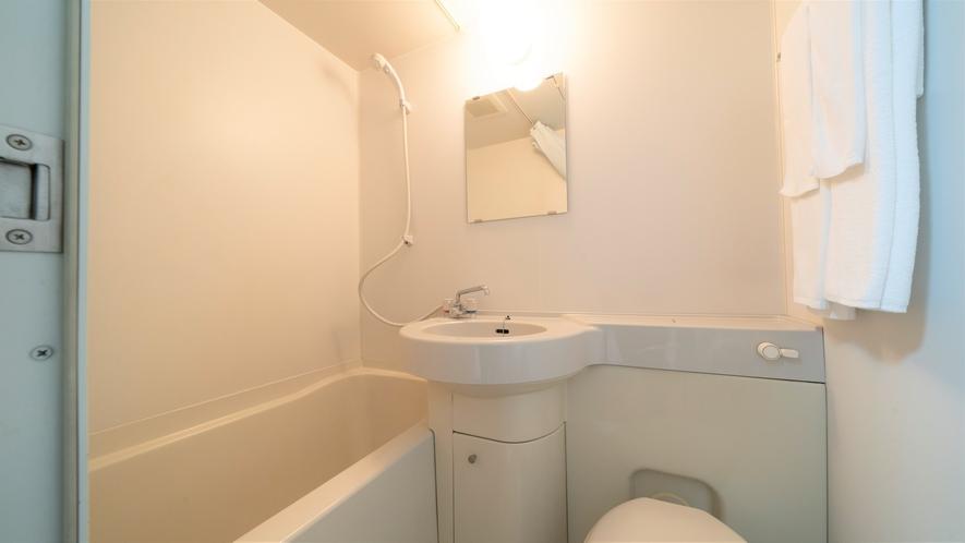 西館ツインルーム バスルーム