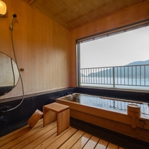 貴賓室 檜風呂