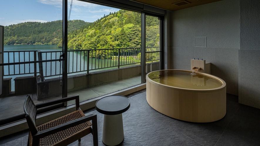 【自家源泉半露天風呂付き客室】和洋室(水円)