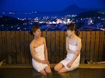 展望風呂からの夜景