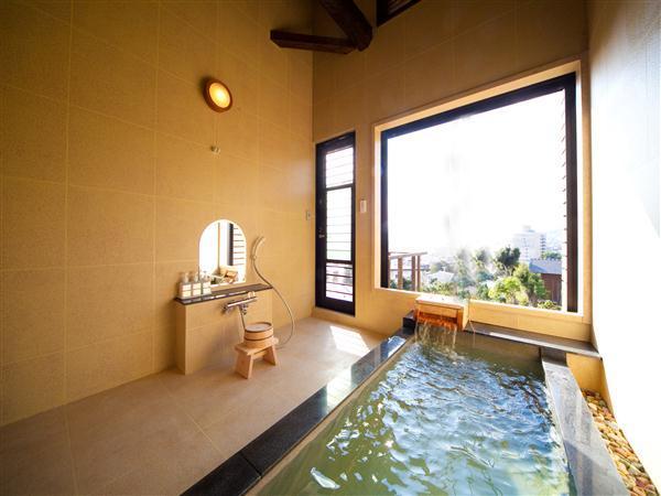 雪月華のお風呂(寝湯)