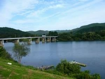 宿裏手北上川、登米大橋を挟んで一関へ!