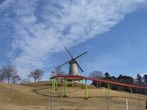 オランダ風車のある長沼フートピア公園  宿より車で25分 キャンプもできるよ