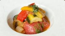 箱根西麓野菜のラタトゥイユサラダ仕立て