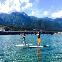 【SUP体験】SUP=スタンドアップパドルで、屋久島の美しい海・空・水・緑を楽しもう!