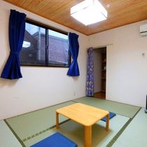 【部屋別棟さくら】別館の和室です。ゆったりとおくつろぎください。