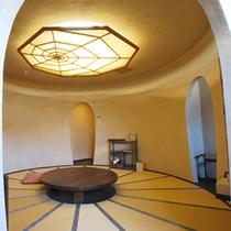 珍しい円形和室 『萩』の間(ベッドルームあり)