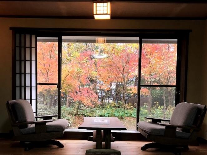 秋 1階 庭の見える部屋 ⑧