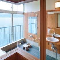 *【半露天風呂付き客室】瀬戸内海を眺めながらお風呂でリフレッシュ♪