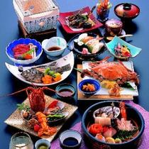 *【あぶとコース】当館で1番グレードの高い贅沢で華やかな会席料理です(イメージ)