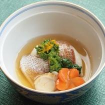 *ご夕食イメージ(鯛のあんかけ)