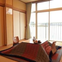 *【半露天風呂付き客室】瀬戸内海を眺めながらお寛ぎください