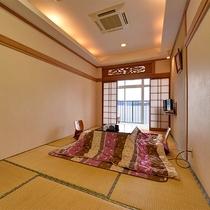 *【和室】冬はコタツをご用意しております。ごゆっくりお寛ぎください。