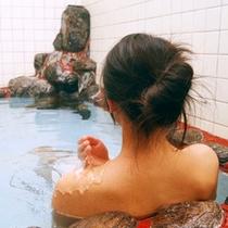 リラックスできる広々お風呂