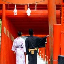 小京都を散策
