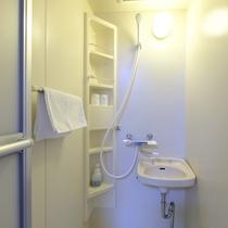 ■ツインルーム シャワー