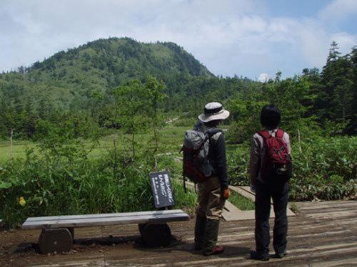 志賀高原トレッキング風景
