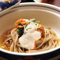 信州蕎麦がおいしい♪/料理一例