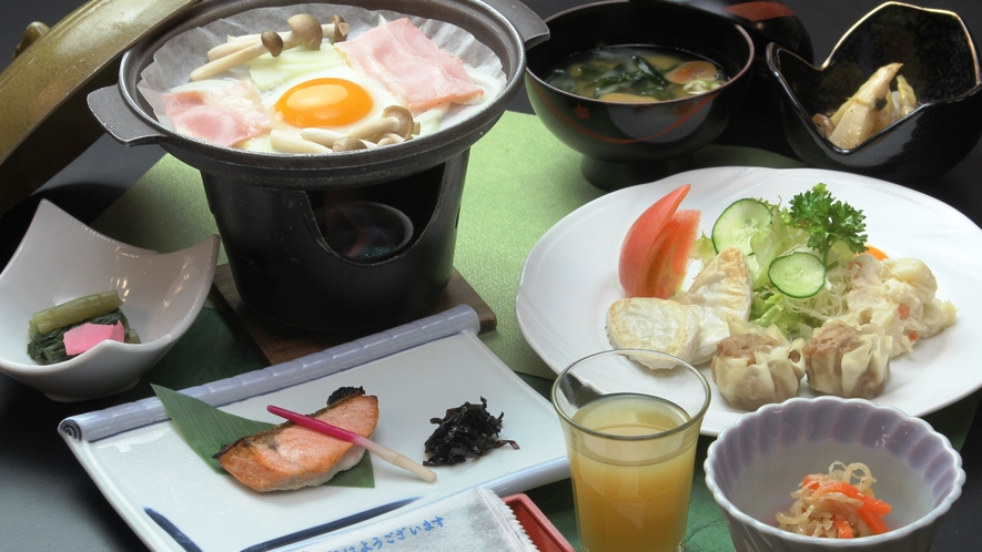 ≪朝食≫和食セット/お料理一例