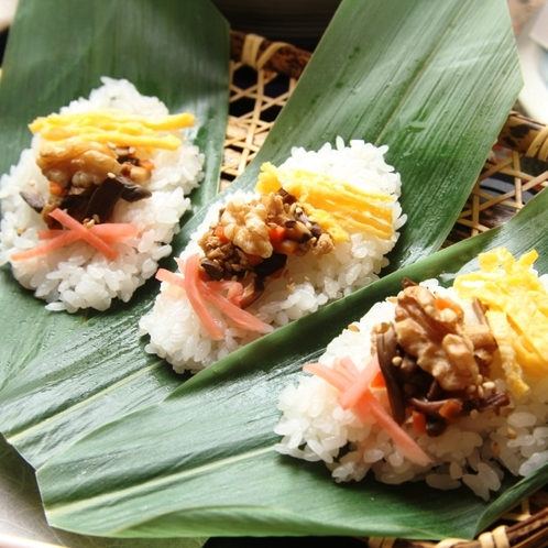 笹寿司のイメージになります