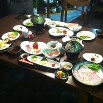 【ご夕食】:ボリューム満点♪1