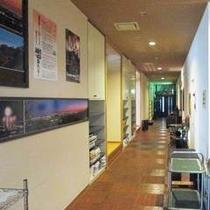【廊下♪】温泉までの廊下