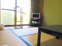 客室 落ち着いた和室です。
