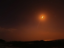 種子島のロケット発射の風景3