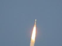 種子島のロケット発射の風景1
