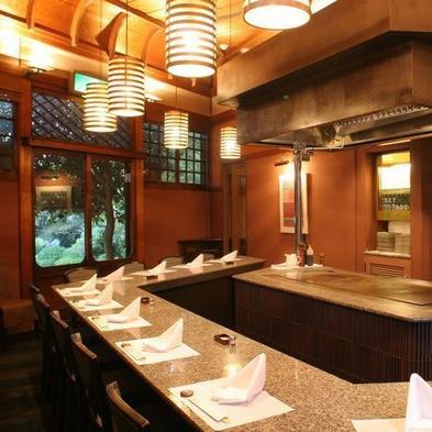 ☆【上級Dinner】☆「ステーキ&シーフード六角堂」での鉄板焼ーディナー☆朝食付