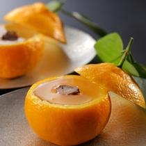 【ご夕食/水物】地元の柑橘を使ったデザート