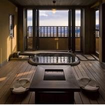 【月タイプのお部屋/1階内風呂】温泉でゆっくりと旅の疲れを癒してください