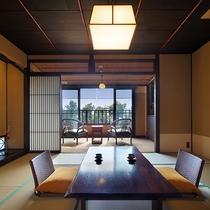 【雪type】1階には10畳の和室、あたたかな日差しの差し込む広縁をご用意しています