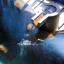 こんこんと流れ出る伊豆高原温泉