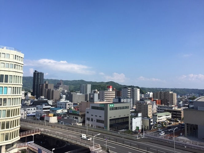 【東側からの景色】