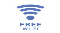 【Free Wi-Fi】全館でご利用いただけます。