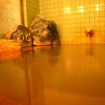*【自噴】毎分71?、51℃という理想の温度自噴しています。それをそのまま湯船に引いています。