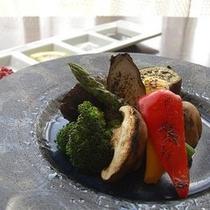 季節の焼き野菜(料理一例)