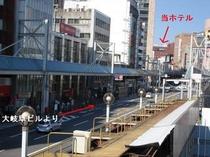 大岐阜ビル-名鉄岐阜駅