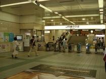 JR岐阜駅改札